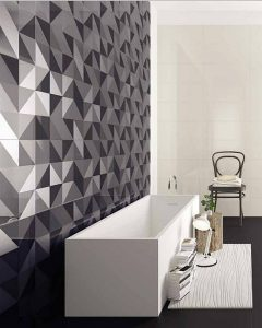 bathroom geometric